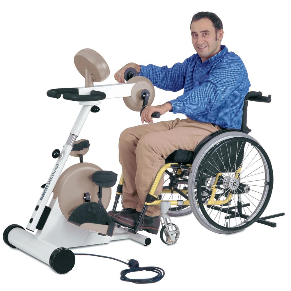 MOTOmed rehabilitation exercise equipment