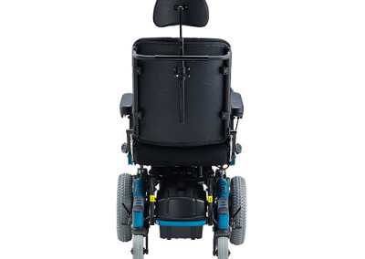 Atigra 1.1 power wheelchair rear vew