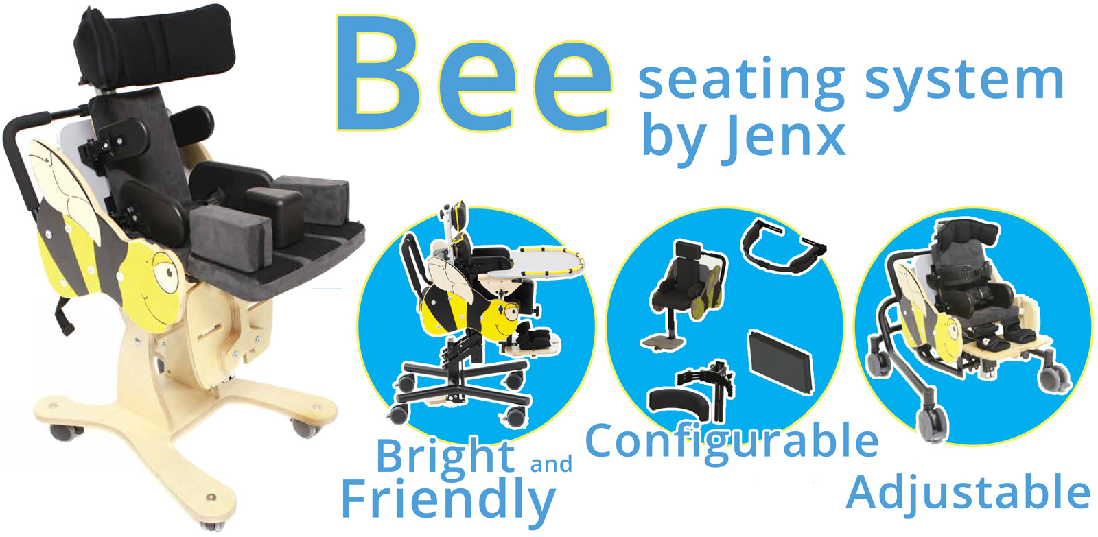 Bee Seating System by Jenx - AC Mobility