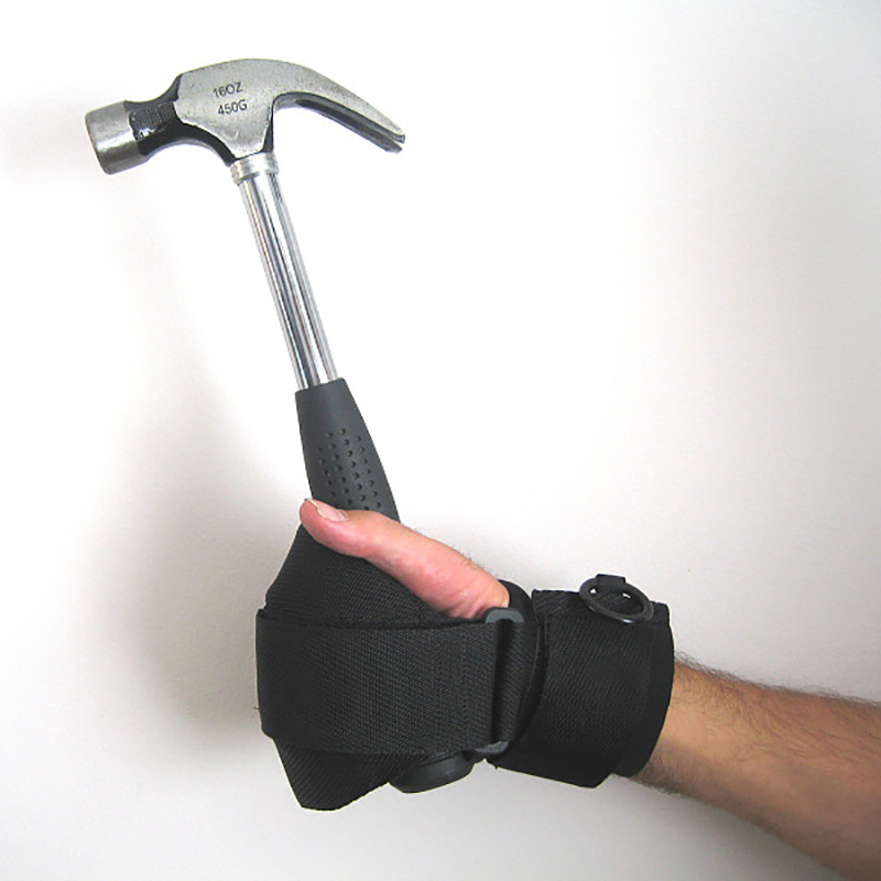 Active hands with hammer