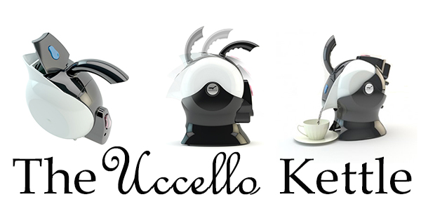 The Uccello Kettle – Safe and Good-looking!