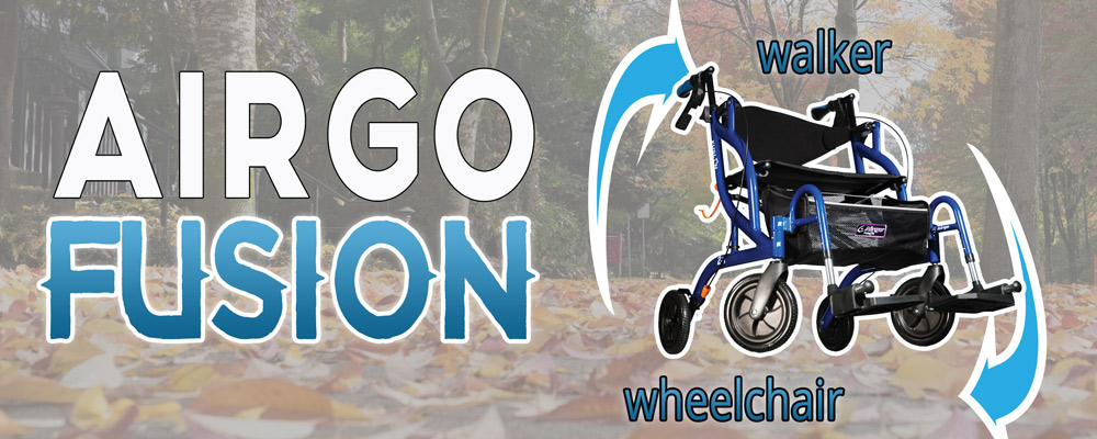 airgo fusion wheeled walker
