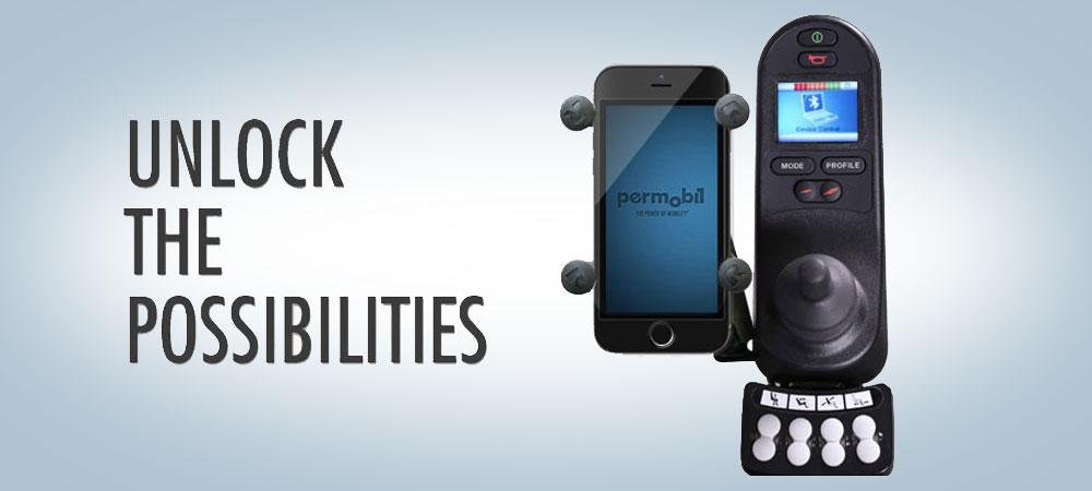 Permobil's R-net Bluetooth Modules