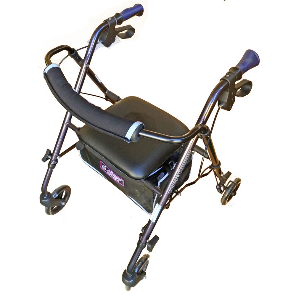 airgo-ultralight walking frame with wheels