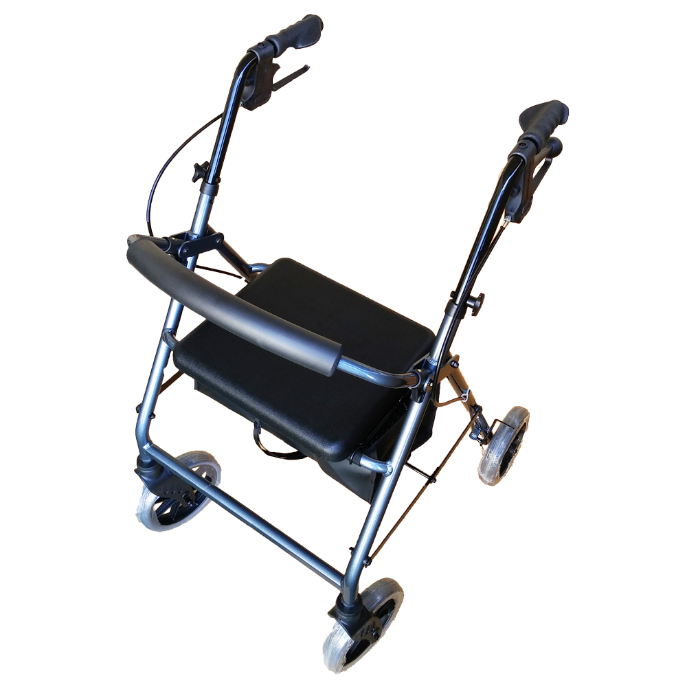 ellipse-tall walking frame with wheels