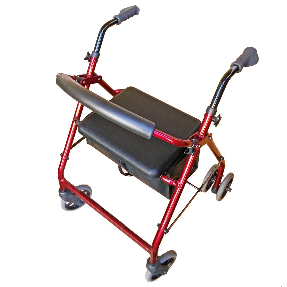 seat-walker-push-down-ellipse walking frame with wheels