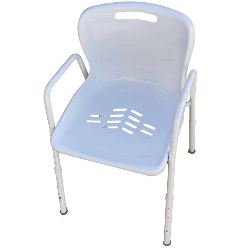 KCare-Shower-Chair-KA220ZA  sc 1 st  AC Mobility & Shower Chairs With Arms And Clip-On Seat - KCare - AC Mobility
