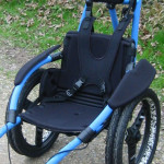 hippocampe beach wheelchair arm rests