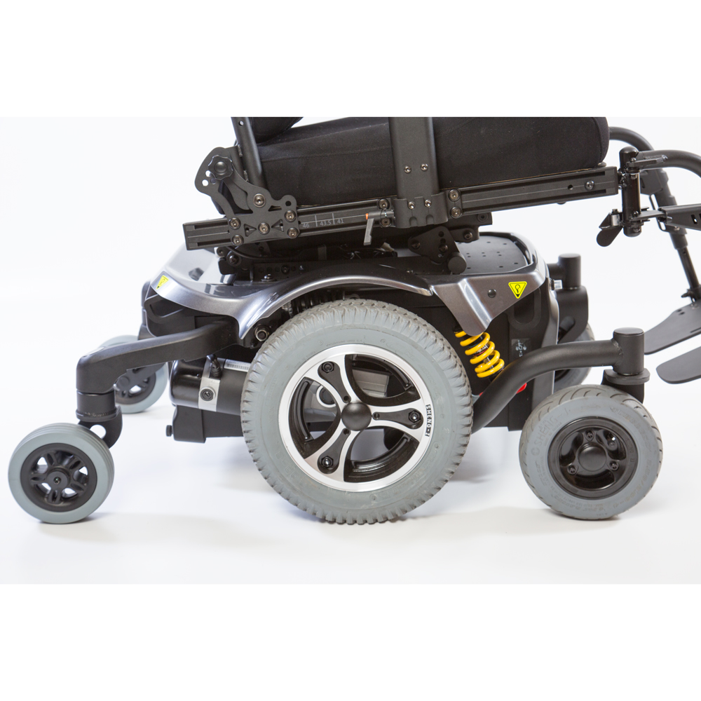 Atigra 2 power wheelchair mid wheel drive ac mobility