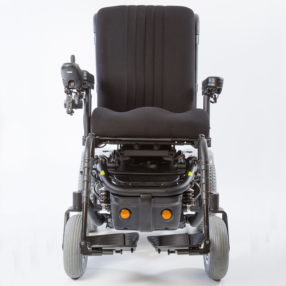 Traxx 3 power wheelchair front view
