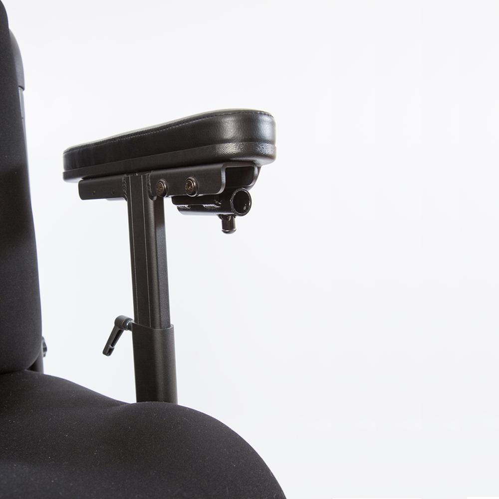 Traxx 3 power wheelchair armrest