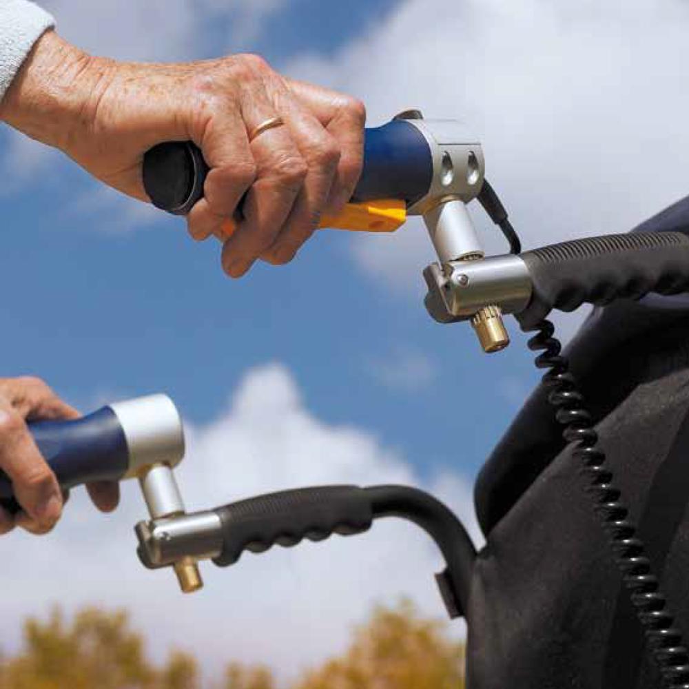v-max power assist wheelchair