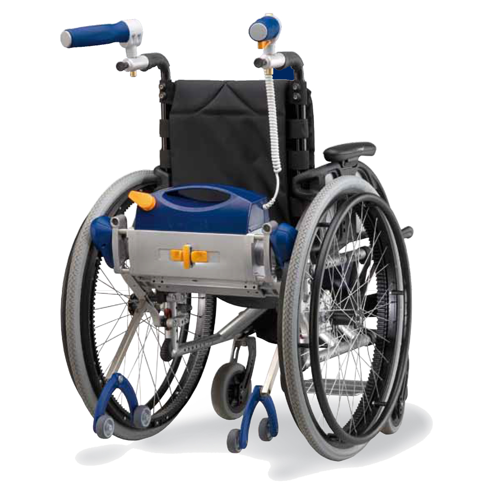 V max power assist wheelchair device ac mobility for Handicap wheelchair