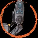 Traxx 3 swing-away-controller-bracket