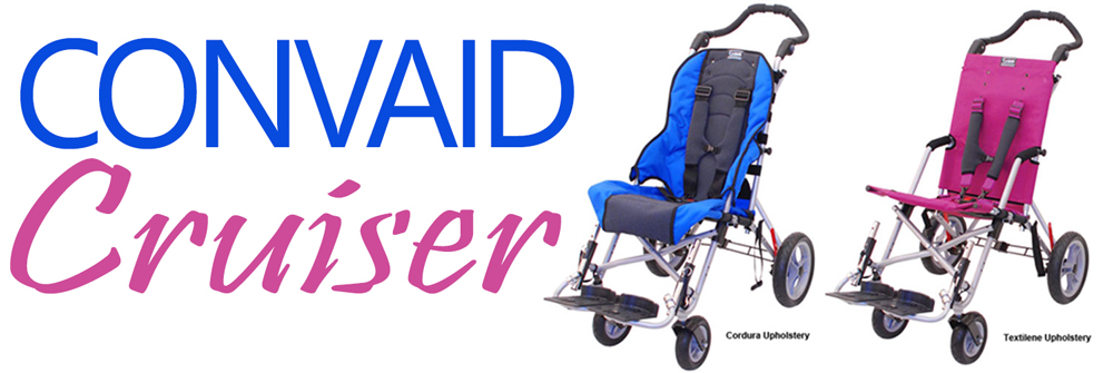 Convaid Cruiser – a great stroller for special needs kids