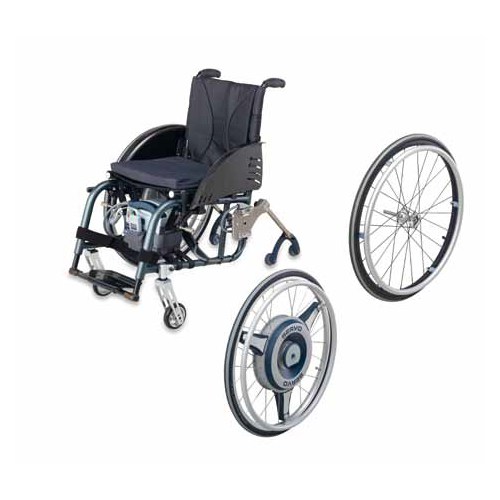 Servo wheel detachment