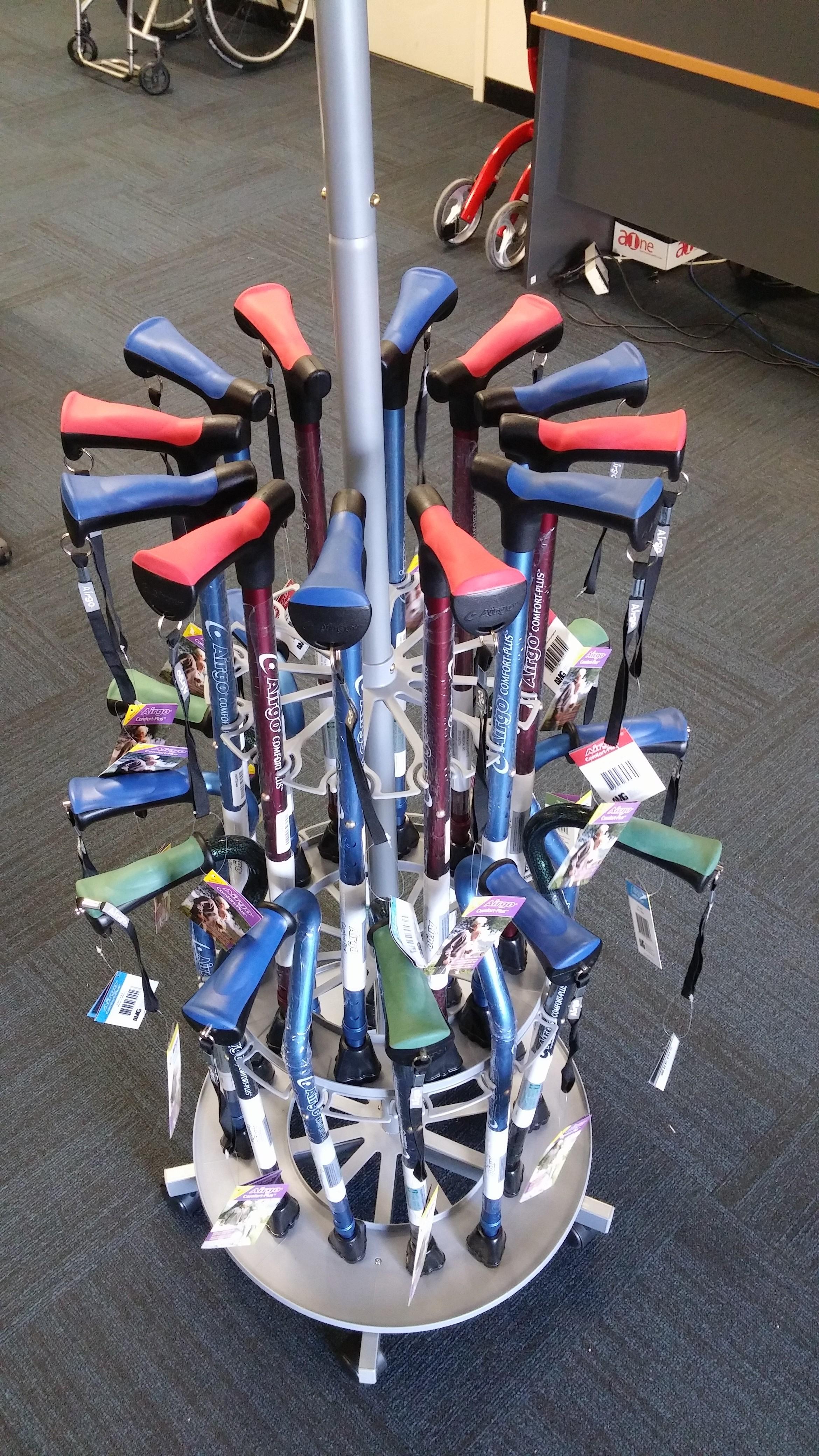 Airgo Walking Sticks (1)