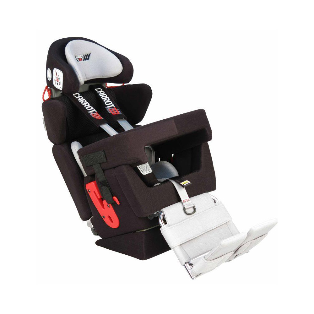 Carrot car seat for postural support