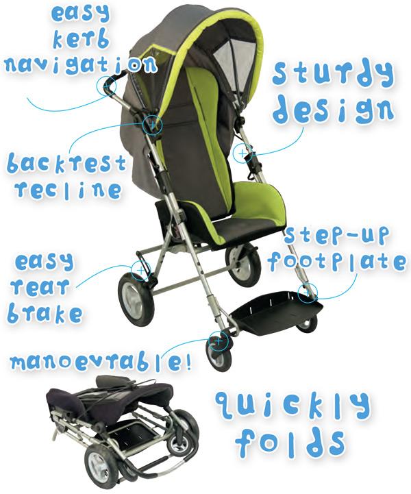 Pixi Special Needs Stroller