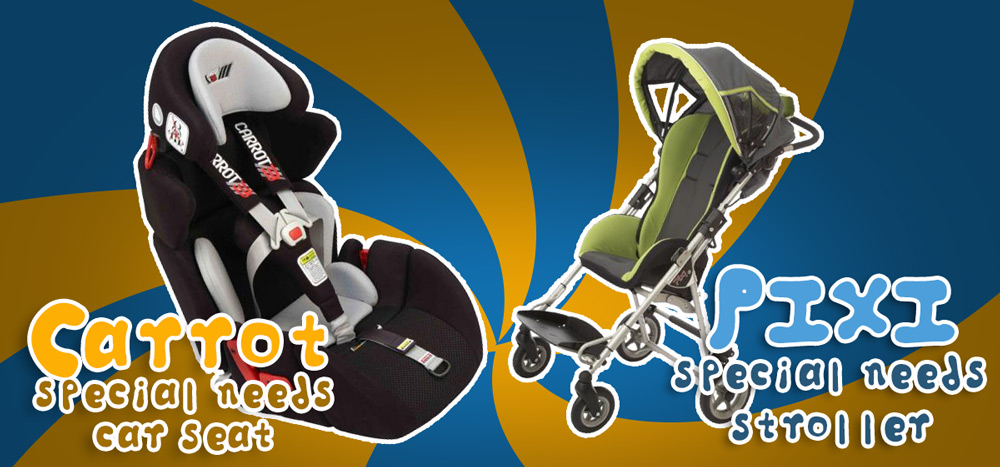 The Carrot Car Seat and The Pixi Stroller Are Now At AC!