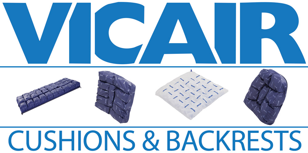 Vicair Cushions and Backrests Inservice