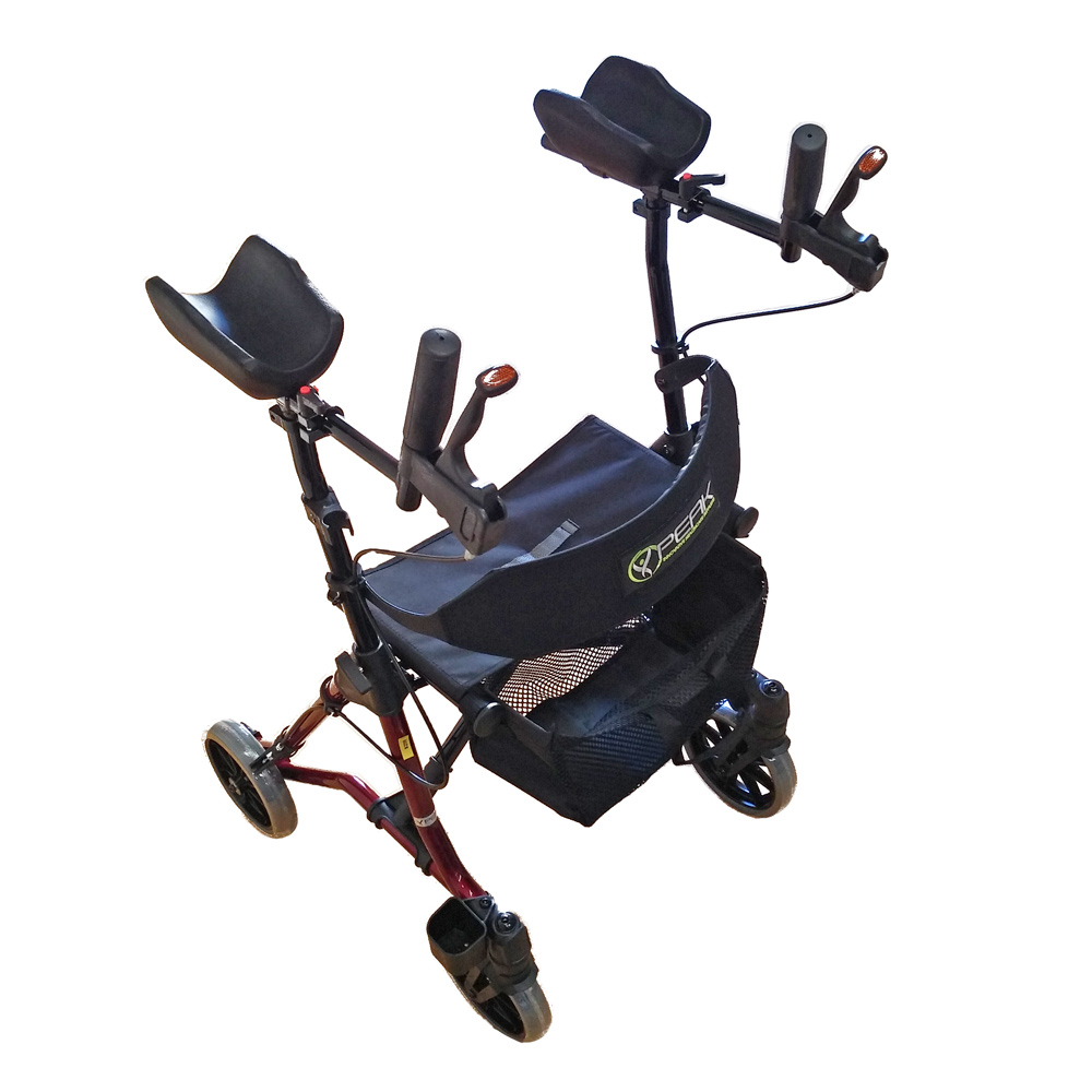 Peak Care Taima Gutter Arm Walker Ac Mobility