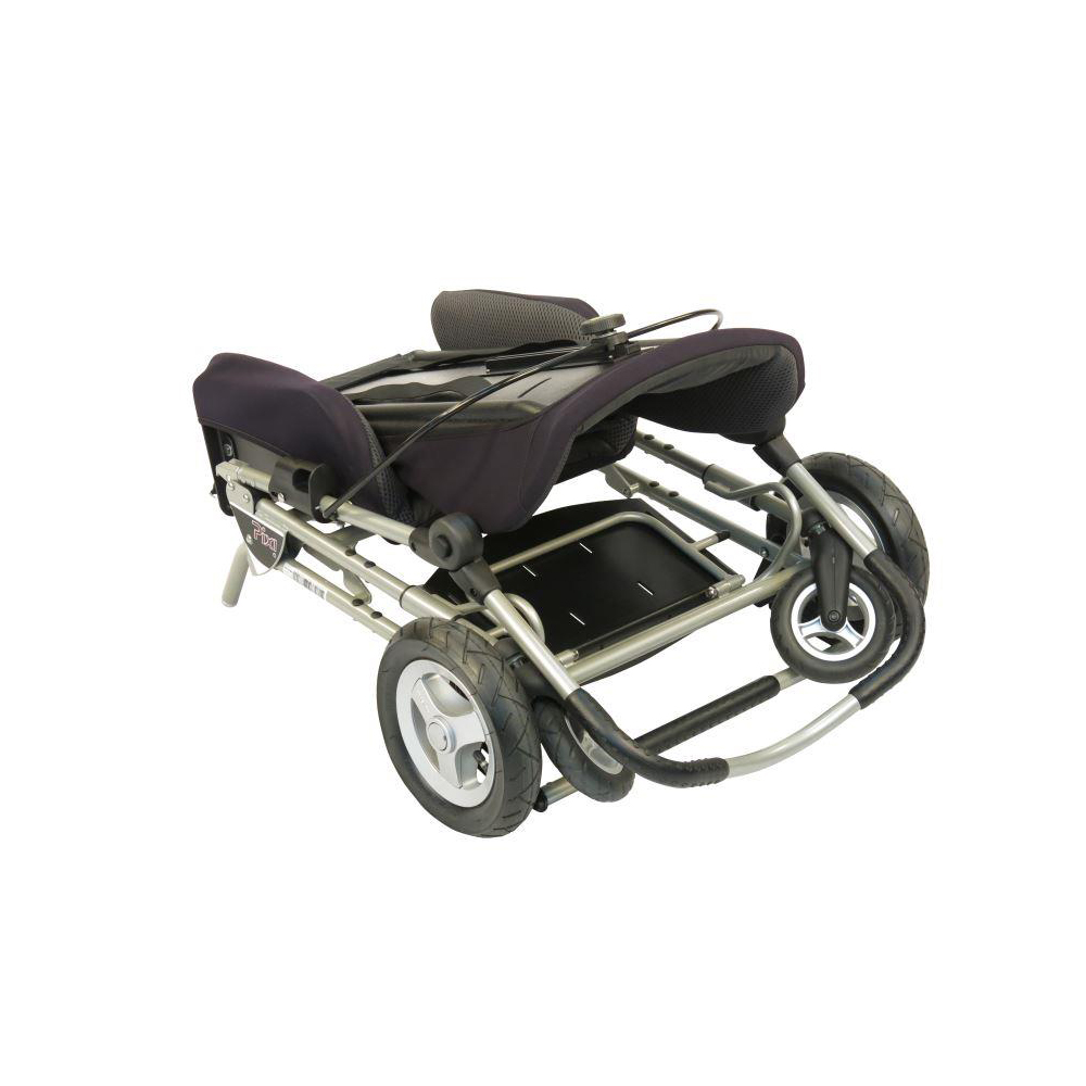 Pixi special needs stroller - folded up
