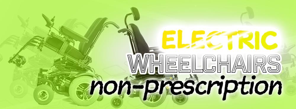 AC's Electric Wheelchair Range – Non-Prescription Chairs