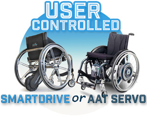 Aat Amp Smart Drive Wheelchair Power Assist Devices Ac
