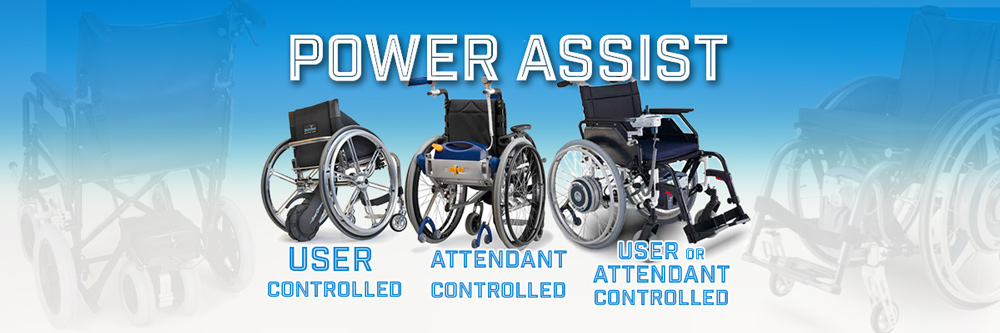 AAT & Smart Drive Wheelchair Power Assist Devices