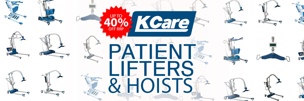 Patient Lifter & Hoist Range By KCare  – Up To 40% Off!