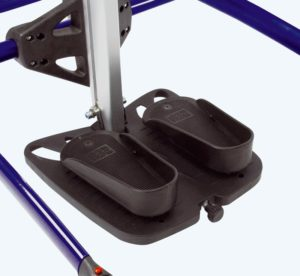 rabbit mobile stander Formed foot plates