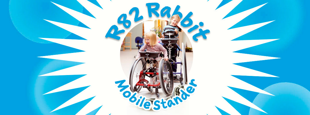 R82 Rabbit Paediatric Mobile Stander