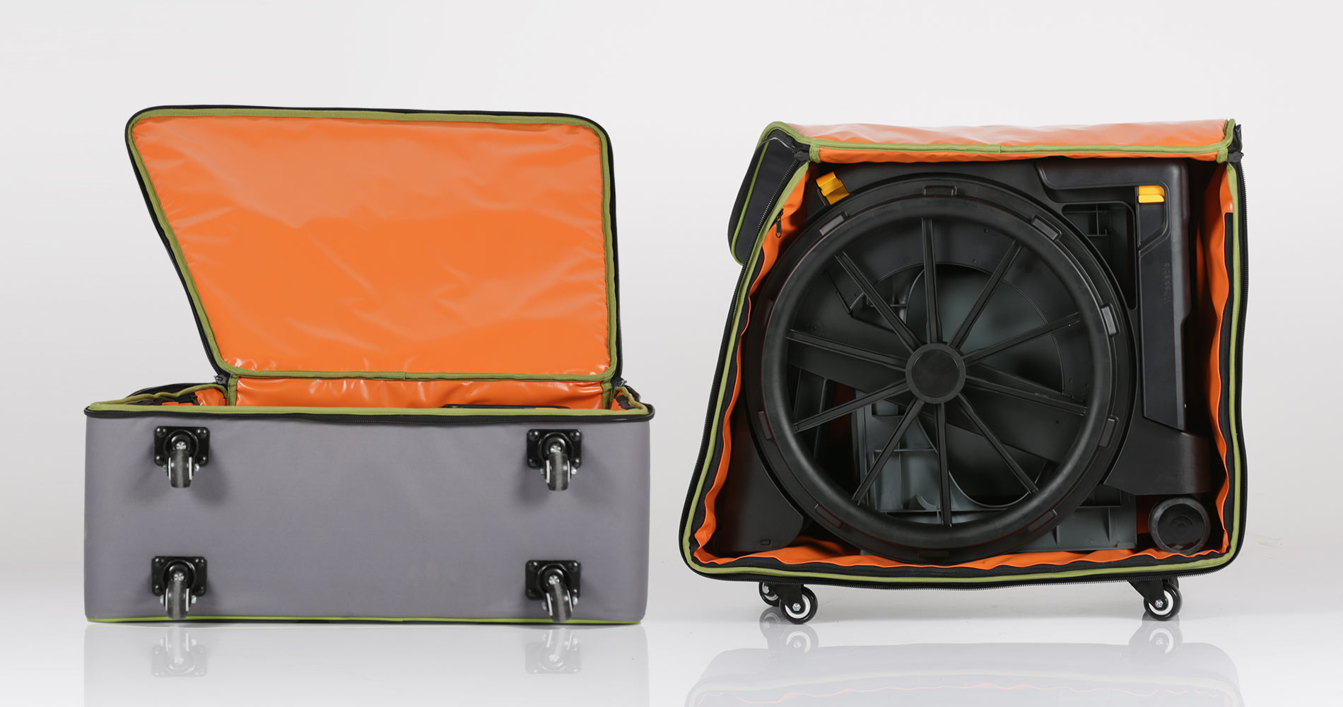 seatara wheelable travel case