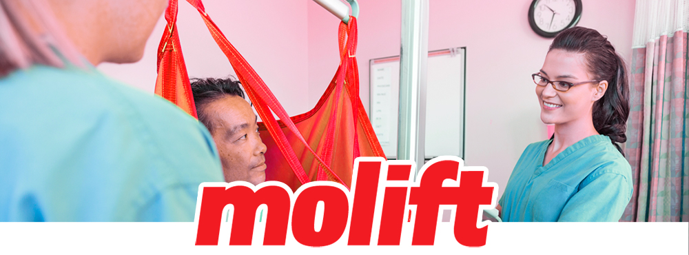 The Molift Range of Patient Hoists