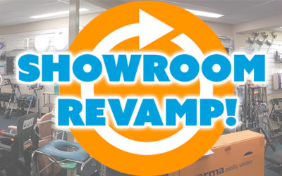 Showroom Revamp at AC Mobility! Come on down!