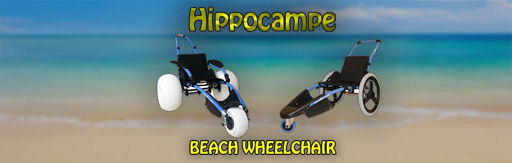 The Hippocampe Beach Wheelchair – Hit the Beach