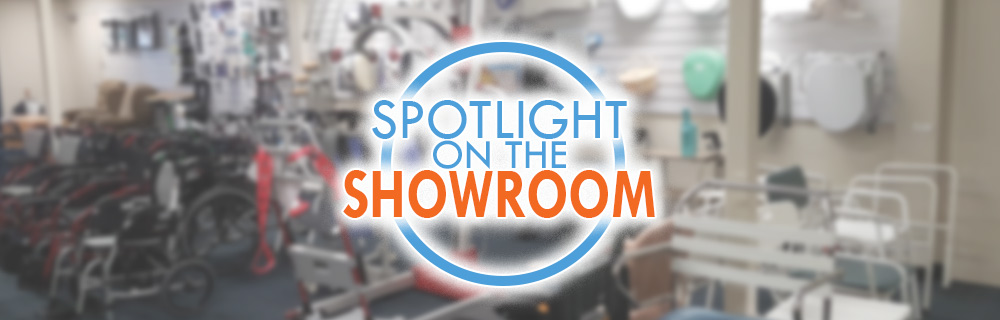 Spotlight on the showroom
