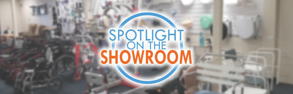 Spotlight on the showroom