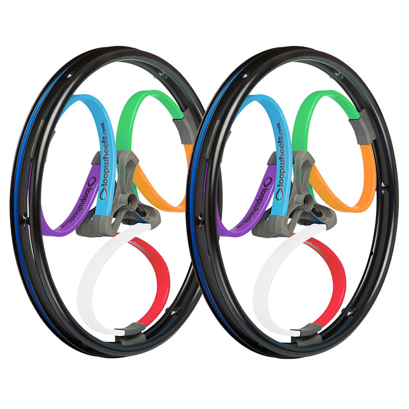 loopwheels Suspension Wheels For Wheelchairs multicolours
