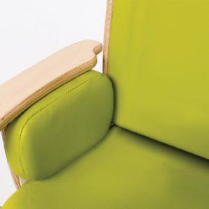 juni chair double cushions