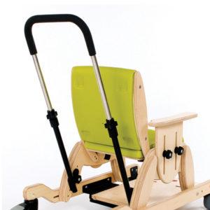 juni chair height adjustable push handle