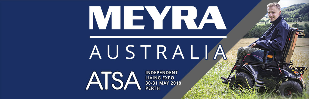 ATSA Perth 2018: Meyra Launch New Wheelchairs