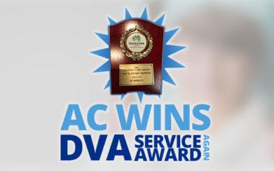 DVA Award (Again) For AC!