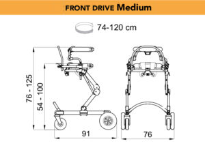 grillo specs front drive medium