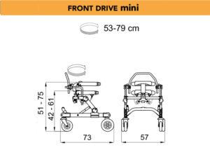 grillo specs front drive mini