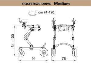grillo walking posterior drive medium