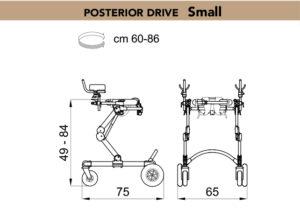 grillo walker posterior drive small