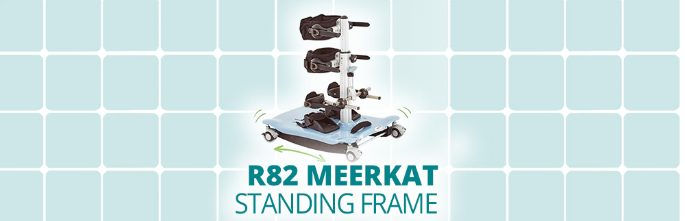 R82 Meerkat Standing Frame | Standing made fun and easy!