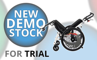 New Demo Mobility Equipment Stock Available for Therapists to Trial